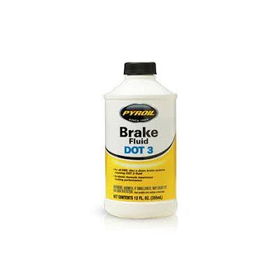 PYROIL BRAKE FLUID DOT 3 (12X12 OZ)