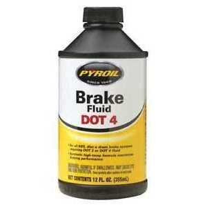 PYROIL BRAKE FLUID DOT 4 (12X12 OZ)